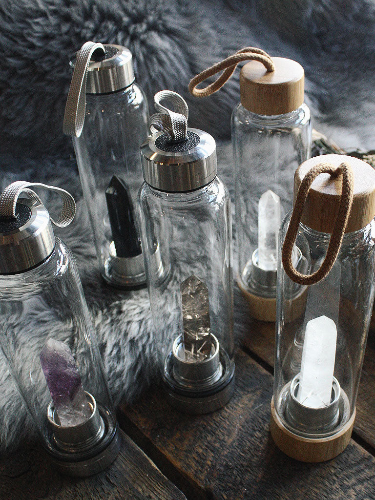 Crystal Elixir Water Bottles