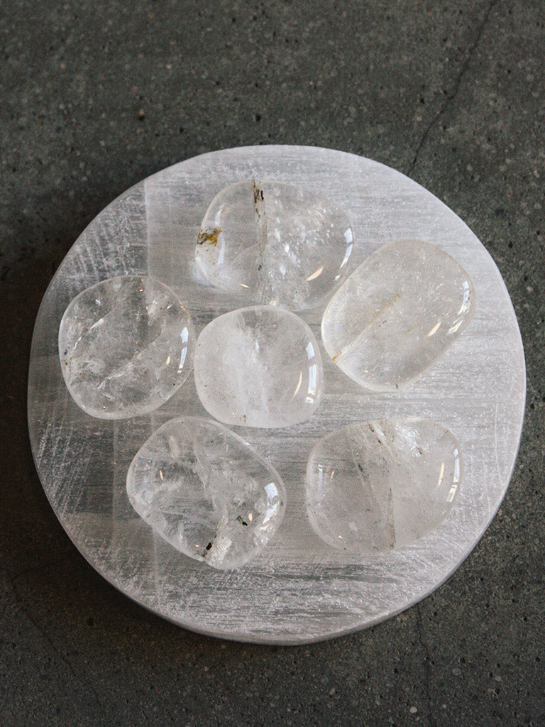Clear Quartz Pocket Stones