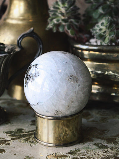 Rainbow Moonstone Sphere F