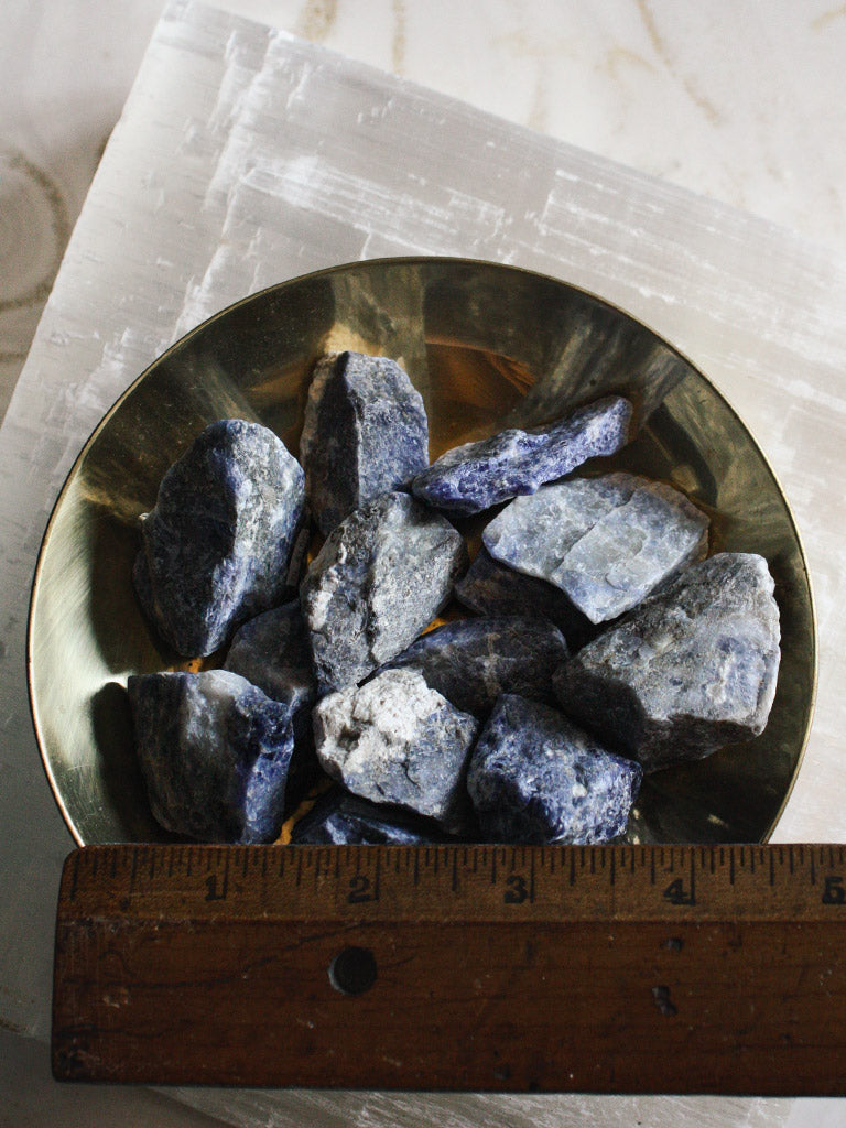 Raw Sodalite Pieces