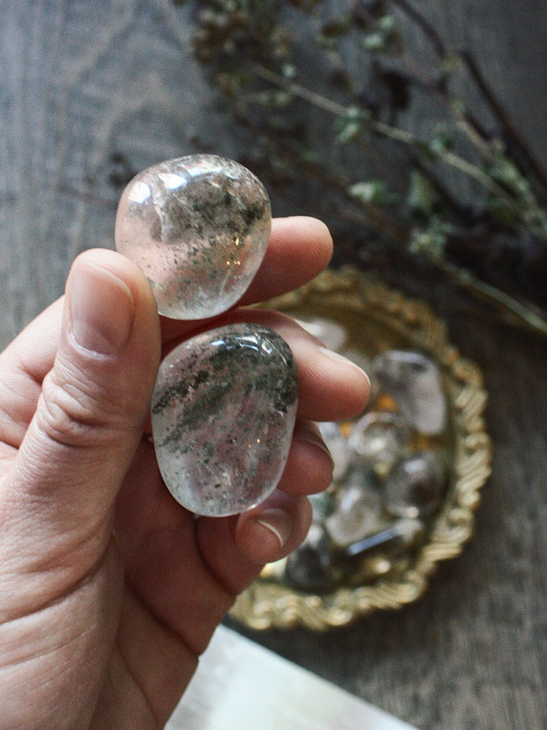 Tumbled Shamanic Dream Quartz