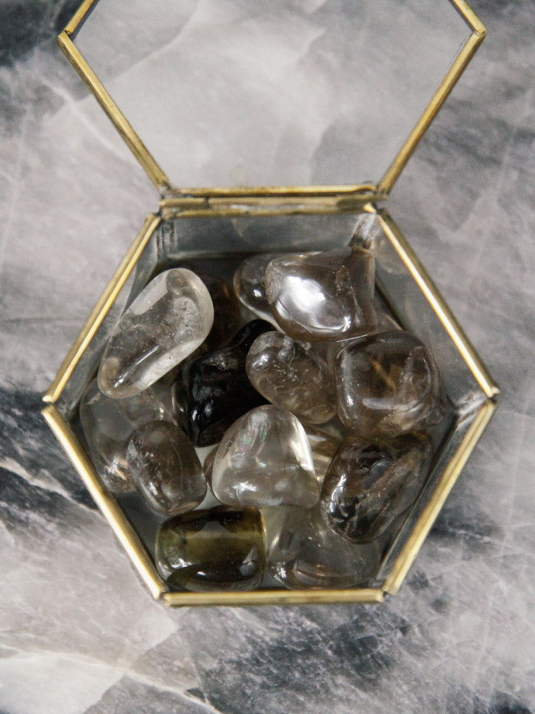 Tumbled Smokey Quartz