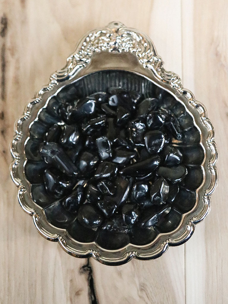Tumbled Black Tourmaline