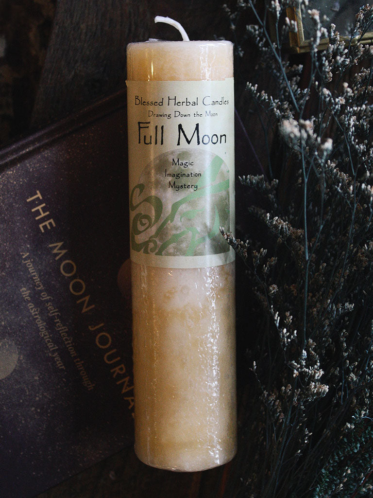 Drawing Down the Moon Full Moon Candle