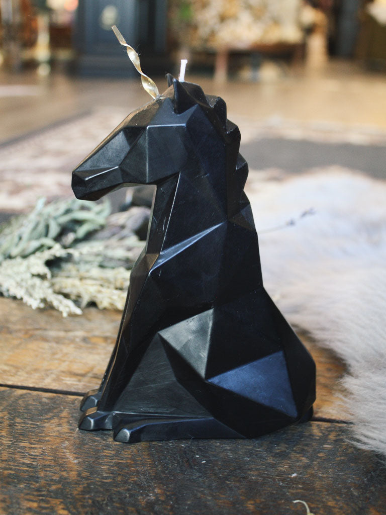 Einar Unicorn Black Candle