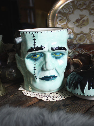Frankenstein Cookie Jar