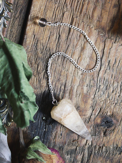 Golden Healers Quartz Pendulum