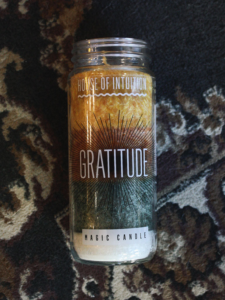Gratitude Magic Candle - House of Intuition