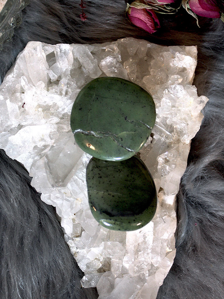 Green Jade Pocket Stones