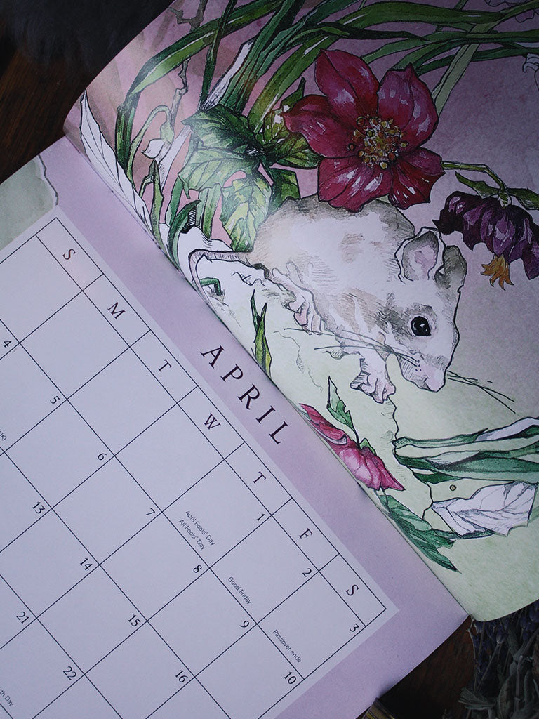 Greenwitch Botanical Calendar 2021