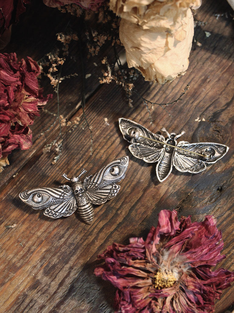 Hawkmoth Broaches