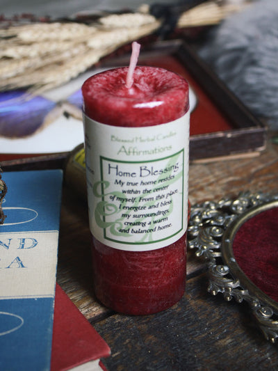 Herbal Home Blessing Candle