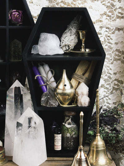 Black Coffin Shelf - Rite of Ritual