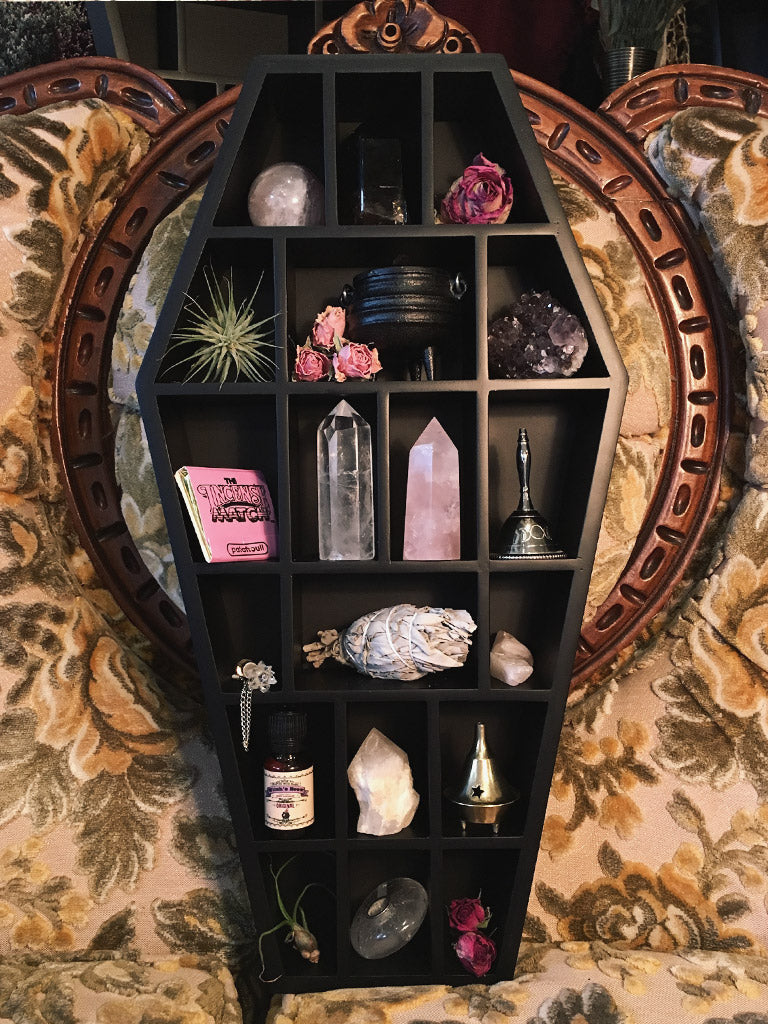 Coffin Curio Shelf - Rite of Ritual