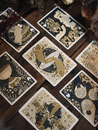 Illuminated Double Set Playing Cards