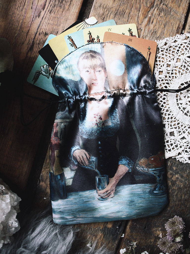 Impressionists Satin Tarot Bag