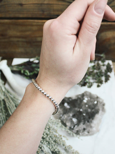 There's Always a Silver Lining Sterling Stacking Bracelet 2