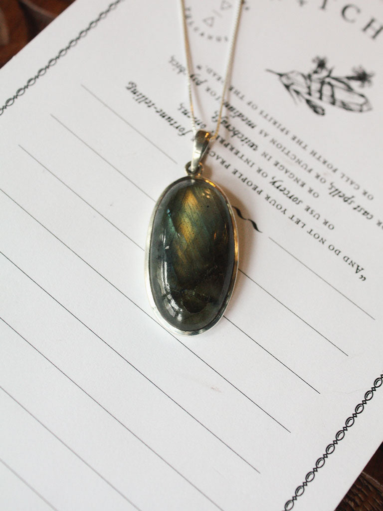 Labradorite Sterling Silver Necklaces