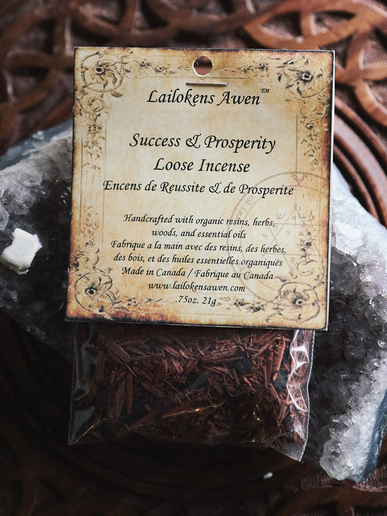 Organic Success and Prosperity Blend Incense