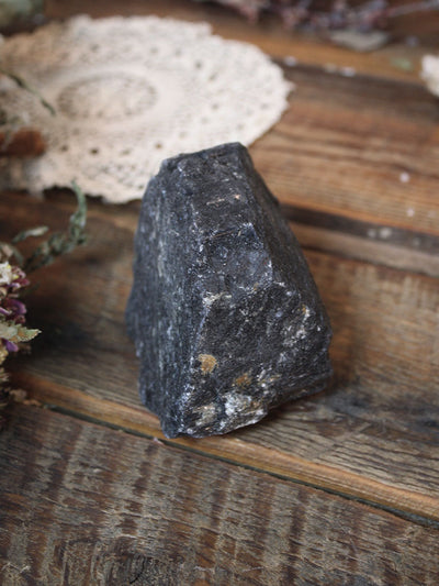Large Raw Black Tourmaline - C775