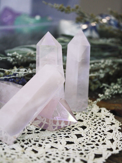Light Rose Opal Aura Generators