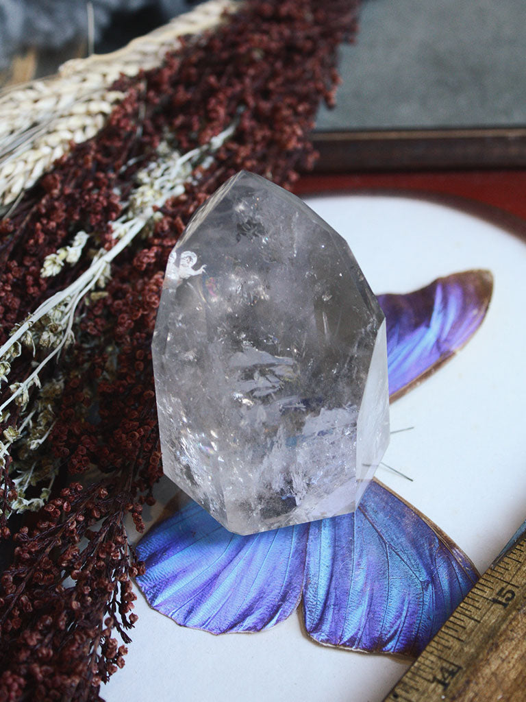 Light Smokey Quartz Generator - C357