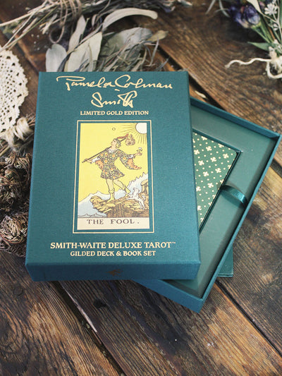 Limited Edition Smith-Waite Deluxe Tarot Set