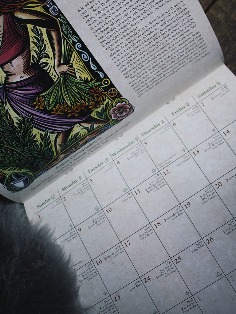 Llewellyn's 2021 Witches' Calendar– Rite of Ritual