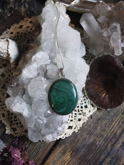 Malachite Necklace - N124