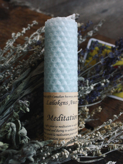 Meditation Spell Candle