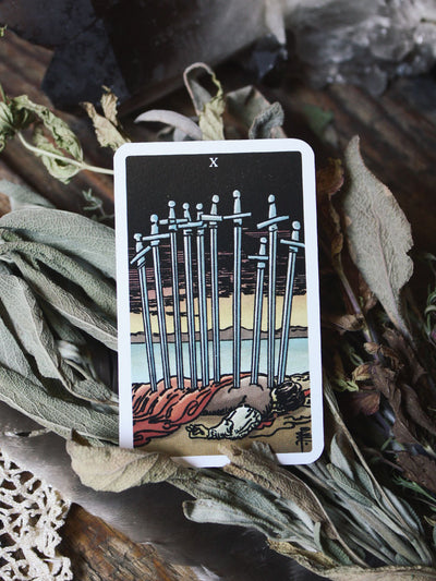 Mini Radiant Wise Spirit Tarot Deck