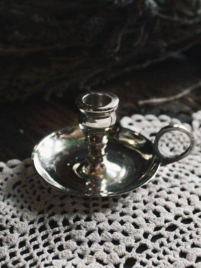 Mini Silver Chime Candle Holders