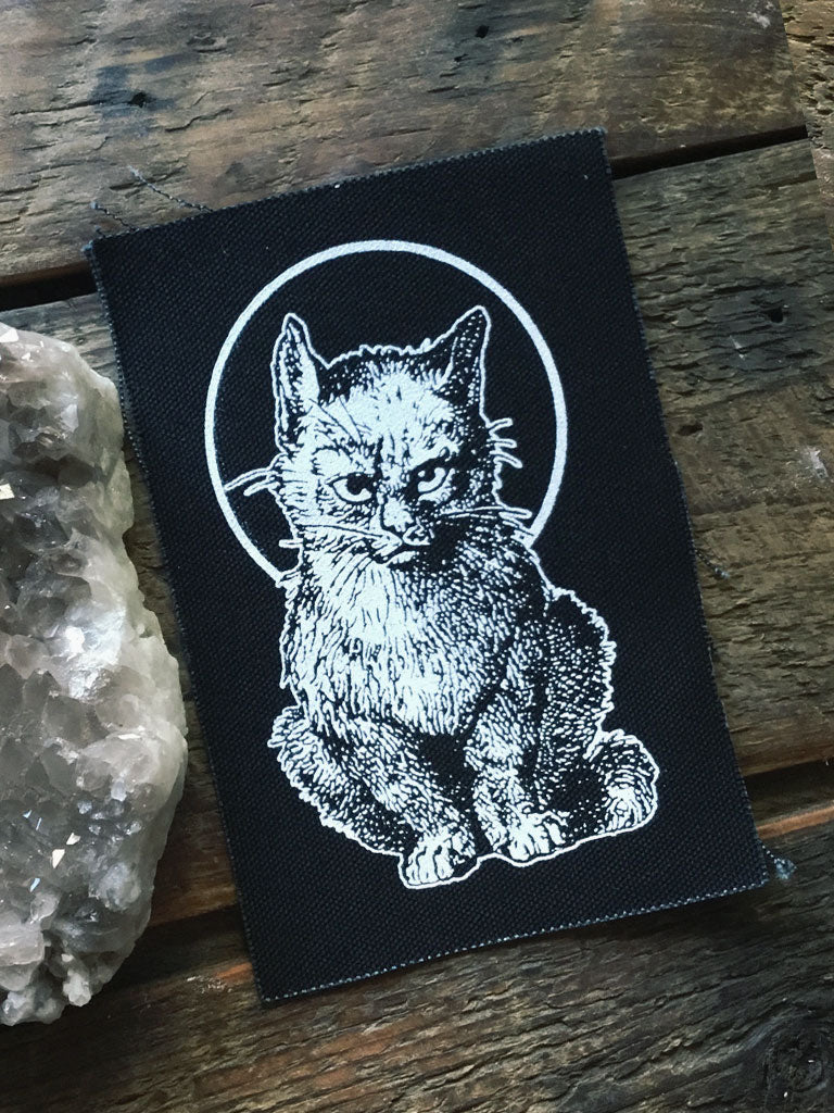 Moody Saint Cat Patch