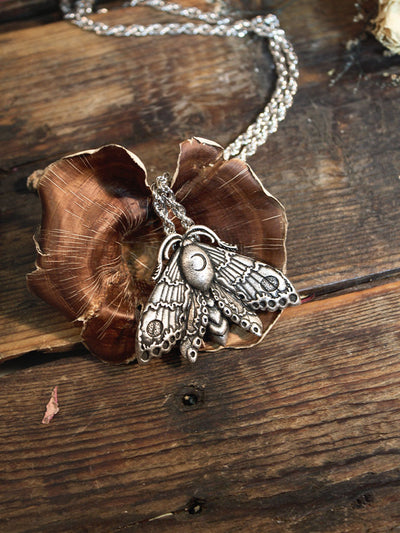 Moon Moth Necklaces