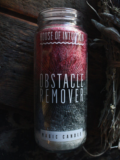 Obstacle Remover Magic Candle - House of Intuition