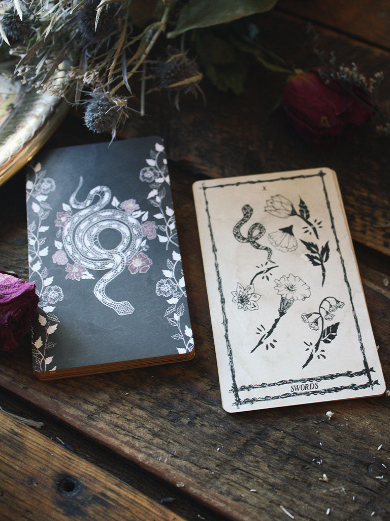 Ophidia Rose Tarot Deck by Leila + Olive