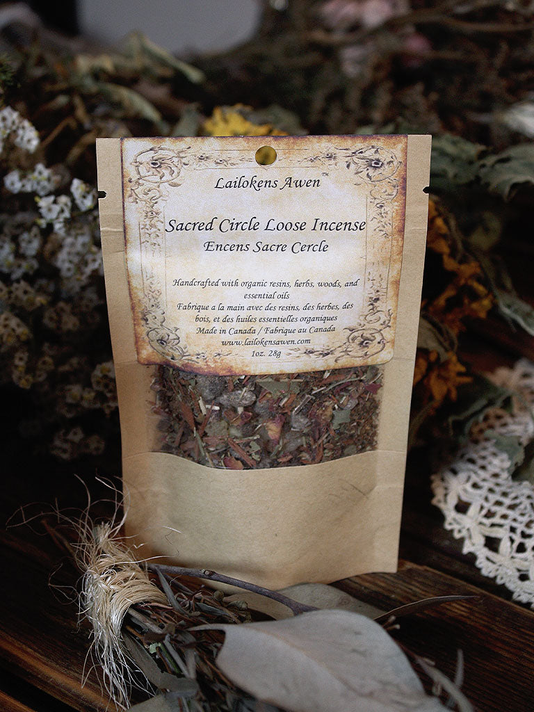 Organic Sacred Circle Incense
