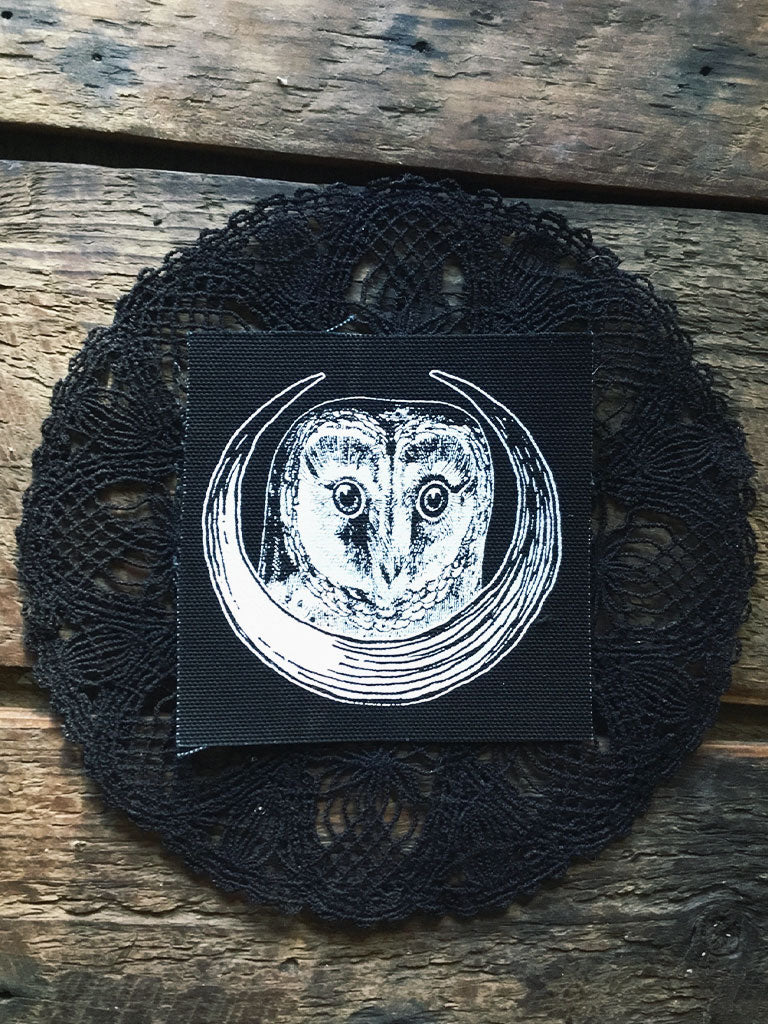 Moon Owl Patch