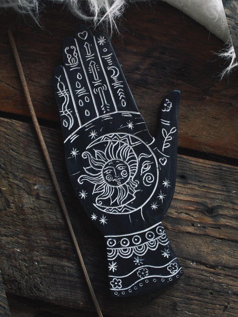 Palmistry Hand Incense Burner
