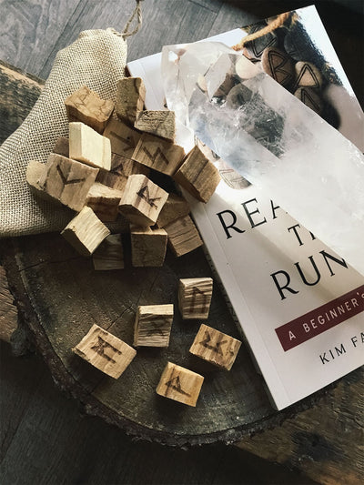 Palo Santo Wood Rune Set