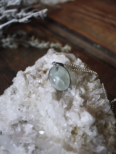 Prehnite Necklace - N112