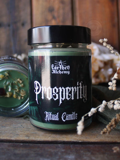 Prosperity Soy Ritual Candle