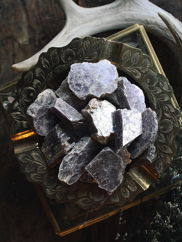 Raw Lepidolite Pieces