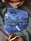 Raw Sodalite Charging Plates