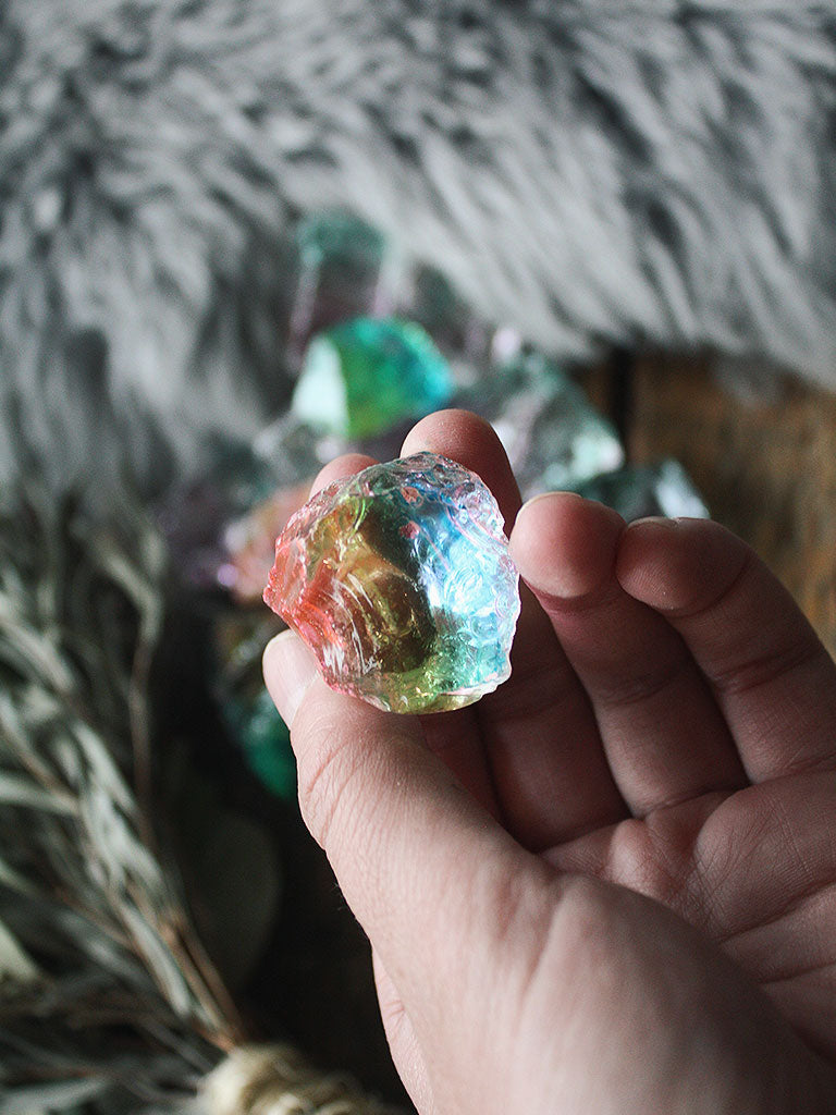 Raw Unicorn Crystal Pieces