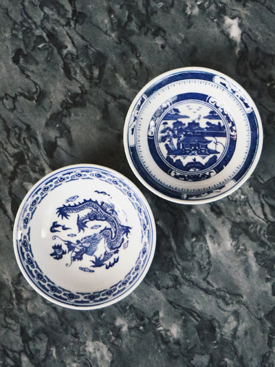 Blue and White Ceramic Dish - Rite of Ritual