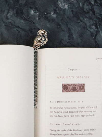 Pheasant Metal Bookmark