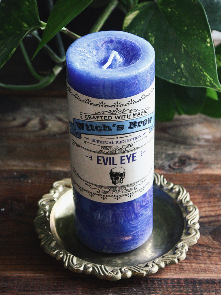 Witch's Brew Evil Eye Candle
