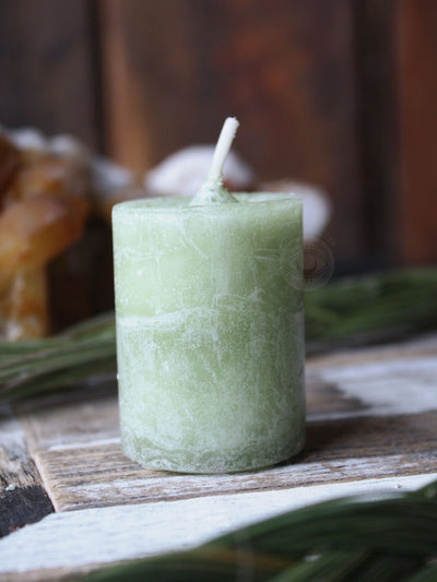 Sacred Sweet Grass Votive Candles
