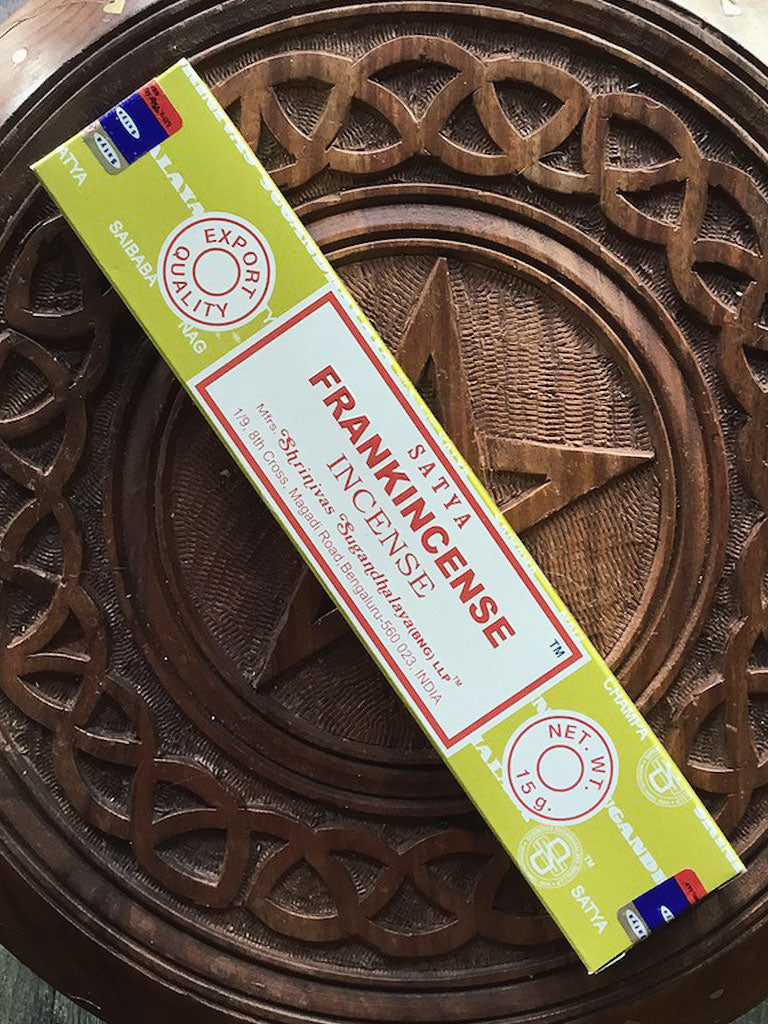 Satya Frankincense Incense